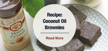 Blog: Coconut Oil Brownie Recipe