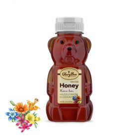 Our regionally sourced mountain wildflower honey has a rich, floral flavor that varies from season to season. This dark honey is preferred by professional bakers for the flavor and aroma it brings to recipes.