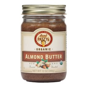 Aunt Patty's Organic Almond Butter is a sweet, creamy butter full of the same anti-oxidants and healthy fats of whole almonds. And because it is certified organic, you can trust that it is a healthy food for you and your family.