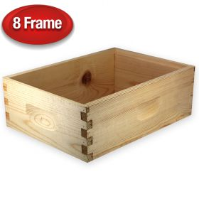 "Unassembled 6 5/8"" Super for 8-Frame Hive"