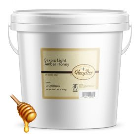 Our baker's grade light amber honey is blended from select domestic and imported honeys to achieve a consistent color and flavor for baking. We process this honey longer than our other varieties, with the goal to eliminate the natural enzymes in honey tha