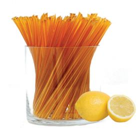 Pure clover honey with all-natural lemon flavor. Try them with tea! HoneyStix make a great all-natural treat for lunches, after-school, and outdoor adventures. A sweet, go-anywhere snack! 100 Stix Per Bag. Kosher certified by Orthodox Union.