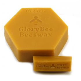 Certified organic filtered beeswax in 1 oz. bars. Convenient to measure out for recipes when making lip balm, soap, and other crafts.