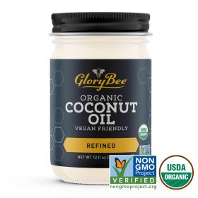 Coconut oil is a great alternative to other cooking oils and can even be used in place of butter or shortening. Coconut oil is about 50% lauric acid, making it easier to digest and metabolize than other fats. Aunt Patty's Organic Coconut Oil has a high sm