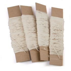 Papercore Wicking -  25 yards. For container-type candles and votives.