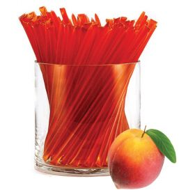 Our famous peach flavor honey is a real summer treat in these fruit flavored HoneyStix. HoneyStix make a great all-natural treat for lunches, after-school, and outdoor adventures. A sweet, go-anywhere snack! 100 Stix Per Bag. Kosher certified by Orthodox