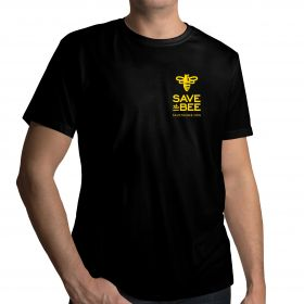 GloryBee loves bees! If you do too, show your love with this black Save The Bee shirt. Goes great with jeans, or under your beekeeping suit!