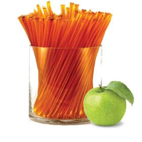 Pure clover honey with all-natural sour apple flavor. HoneyStix make a great all-natural treat for lunches, after-school, and outdoor adventures. A sweet, go-anywhere snack! 100 Stix Per Bag. Kosher certified by Orthodox Union.