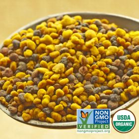 Harvested in the rugged northwest corner of Iberian Peninsula, these high mountain bees visit a variety of plants such as chestnut, heather, and oak. This organic bee pollen has a sweet taste with a soft crunch, but in our opinion, the best part is that