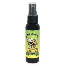 "Swarm Commander is a premium swarm lure that has been formulated to help you capture feral swarms. Swarm Commander mimics ""Nasanov"" which is the natural pheromone of the worker honey bee."