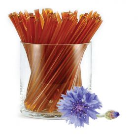 Wildflower honey is dark, and rich, with a hint of spice. No added flavors are needed to make this HoneyStix a favorite! HoneyStix make a great all-natural treat for lunches, after-school, and outdoor adventures. A sweet, go-anywhere snack! 100 Stix Per B