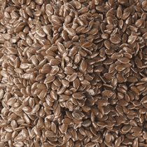 Whole brown flax seeds have a nutty flavor and are excellent when added to baked goods such as breads, muffins, granola, biscuits and pancakes.
