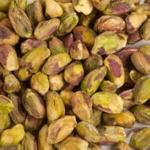 Whole raw shelled pistachio nuts for cooking and baking. Unroasted, unsalted. 5 lb bag.