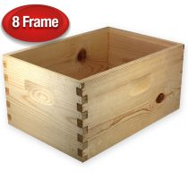 "Unassembled 9 5/8"" Super for 8-Frame Hive"