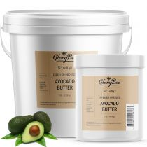 This exotic refined butter is from tropical regions around the world. It is taken from the oil of the fruit of the avocado tree. Avocado butter has a mild scent. It helps to moisturize and soften rough, dry and cracked skin. It is an excellent addition to
