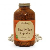Bee pollen is the male seeds of flowers collected on the legs of honeybees and formed into granules. Honey bees rely on this pollen and honey for food. Bee pollen contains the vitamins, minerals, amino acids (proteins), enzymes and fatty acids needed for
