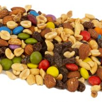 Made with premium, all-natural ingredients, Aunt Patty's Cascade Trail Mix is the classic trail mix that we all grew up with commonly known as Gorp (good old raisins and peanuts) back in the 1970's. A perfect blend of sweet chocolate...