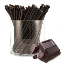 Dark and rich, made with real cocoa! A perfect treat for the chocolate lover. HoneyStix make a great all-natural treat for lunches, after-school, and outdoor adventures. A sweet, go-anywhere snack! 100 Stix Per Bag. Kosher certified by Orthodox Union.