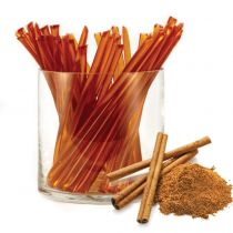 Pure clover honey flavored with natural cinnamon essential oil. HoneyStix make a great all-natural treat for lunches, after-school, and outdoor adventures. A sweet, go-anywhere snack! 100 Stix Per Bag. Kosher certified by Orthodox Union.