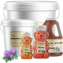 This honey's characteristic flavor is caramel accented with notes of toffee, molasses, cotton candy and crème brulee. Gently warm this honey and enjoy aromas of cinnamon, caramel, and spices followed by a delicate hint of floral fragrances.