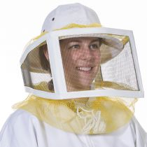 This is the most popular veil used for beekeeping. We highly recommend this one-size-fits-all veil for those beekeepers who don't like wearing a full suit or jacket. This veil can conveniently be worn with jeans and a long sleeved shirt.