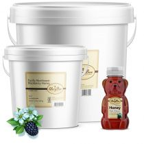 This premium blackberry honey combines all the natural and pure flavors of blackberry in pure honey harvested in the Pacific Northwest. It has a rich, warm, confectionary sweetness and a tiny hint of spice.The rich, warm flavor is great for s