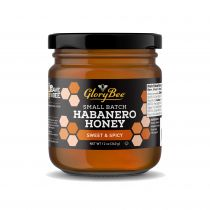 The sweet and fruity citrus-like flavor of this Habanero honey comes from our clover honey infused with a natural Habanero flavor emulsion. Each jar of raw GloryBee honey is guaranteed 100% pure. Suggested Uses: Infuse sauces, marinades, and vinaigrettes