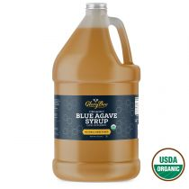 "Our organic blue agave syrup is 100% pure nectar extracted from the Agave Tequilana Weber plant. This plant is ""origin certified"" meaning it comes from one region within Mexico. Origin certified agave produces a product that is more consistent in color, t"