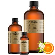 Sweet orange - citrus sinensis (cold processed from the peel) sweet, fresh, fruity citrus scent. Antidepressant, anti-inflammatory, bactericidal, fungicidal, stimulant. 100% pure, undiluted oils.