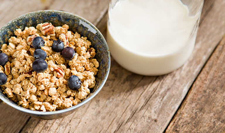 We're offering 10% off Red Plate Granola for February!