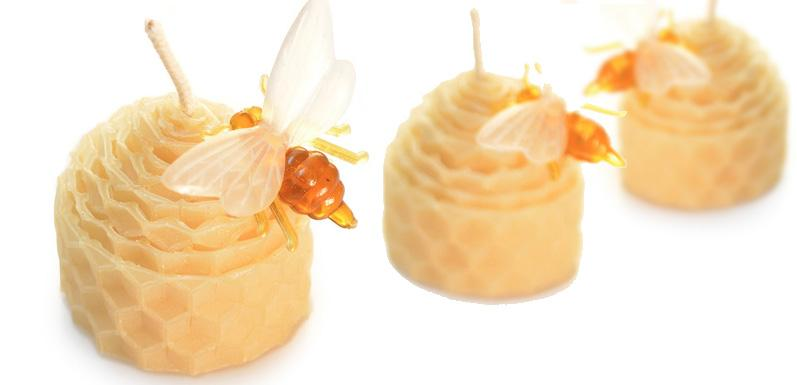 Bee Skep Candles