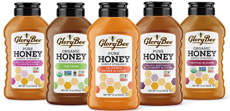 GloryBee Introduces Simply Strained Honey Line